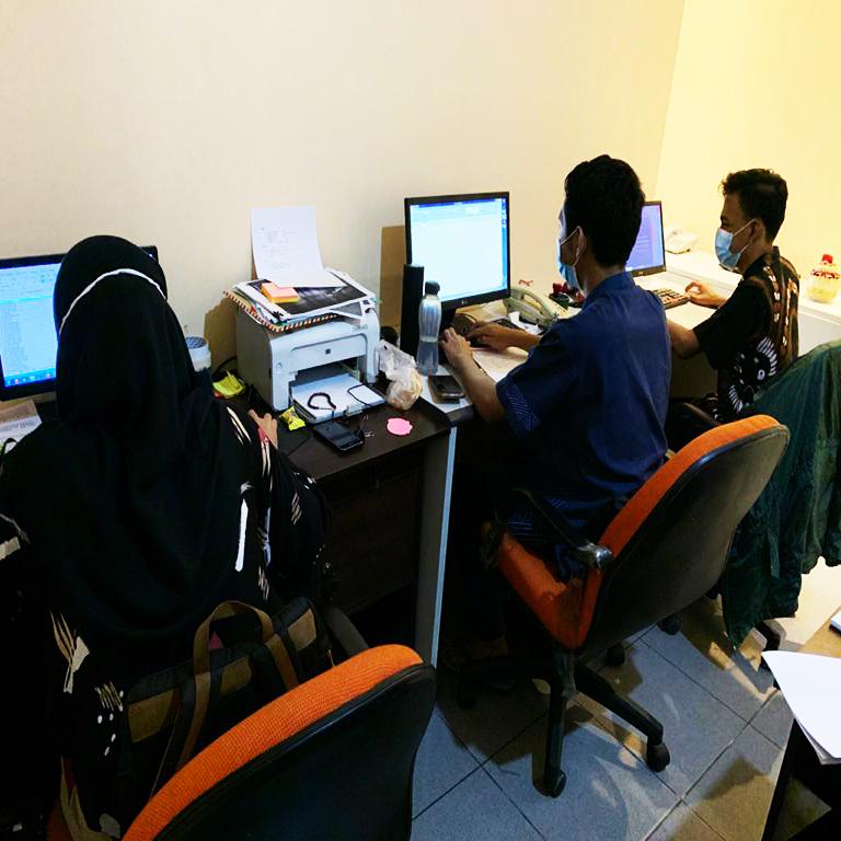 Ruangan Tim Pajak dan Keuangan